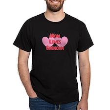 Brendan Loves Mom T-Shirt