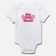 Brendan Loves Mom Infant Bodysuit