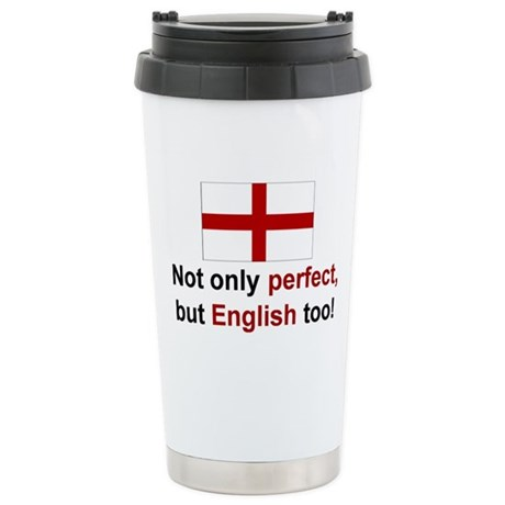 Perfect English Stainless Steel Travel Mug