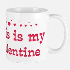Ellis is my valentine Mug