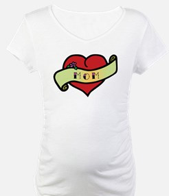 Mom Tattoo Heart Shirt