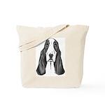 Basset Hound Tote Bag