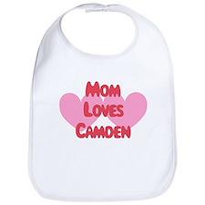Camden Loves Mom Bib