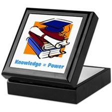 Knowledge is Power Keepsake Box