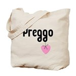 Preggo Heart Tote Bag