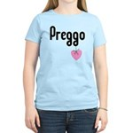 Preggo Heart Women's Light T-Shirt