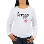 Preggo Heart Women's Long Sleeve T-Shirt