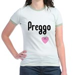 Preggo Heart Jr. Ringer T-Shirt