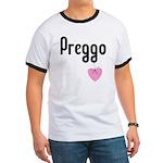 Preggo Heart Ringer T