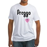 Preggo Heart Fitted T-Shirt