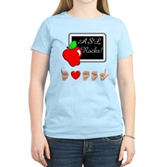 I Love ASL Female T-Shirt