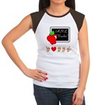 I Love ASL Female Women's Cap Sleeve T-Shirt