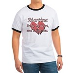 Martina broke my heart and I hate her Ringer T
