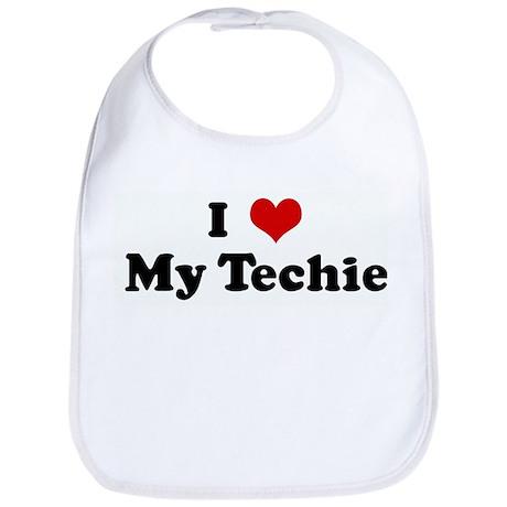 I Love My Techie Bib