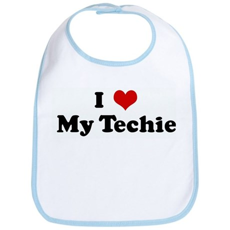 I Love My Techie Bib