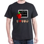 I Love ASL Male Dark T-Shirt