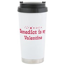 Benedict is my valentine Travel Mug