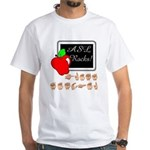 Great Teacher Male White T-Shirt