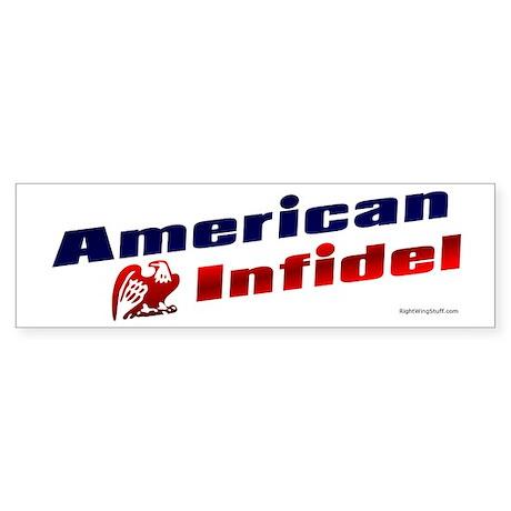 American Infidel (eagle) Bumper Sticker
