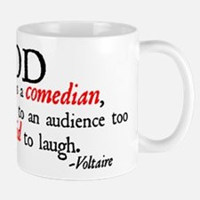 God is a Comedian Mug