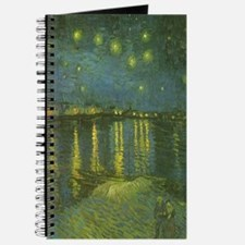 Van Gogh Starry Night Over the Rhone Journal