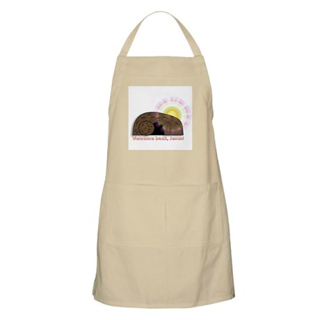 Welcome Back Jesus BBQ Apron