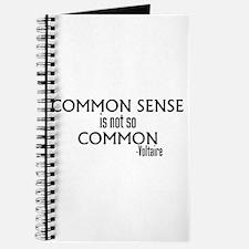 Common Sense Not So Common Journal