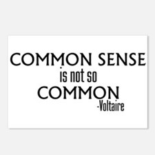 Common Sense Not So Common Postcards (Package of 8