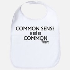 Common Sense Not So Common Bib