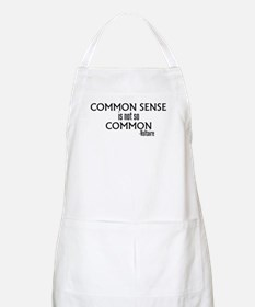 Common Sense Not So Common BBQ Apron