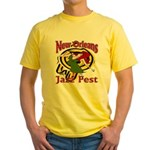 Jazz Fest Rite of Spring Yellow T-Shirt