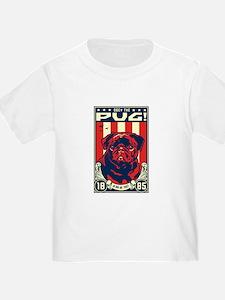 Black Pug Patriotism - Baby / Toddler t-shirt