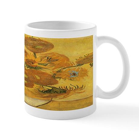 Van Gogh Vase w Sunflowers Mug