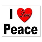 I Love Peace Small Poster