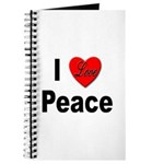 I Love Peace Journal