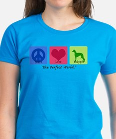 Peace Love Whippet Tee