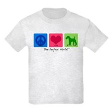 Peace Love Wire Fox T-Shirt
