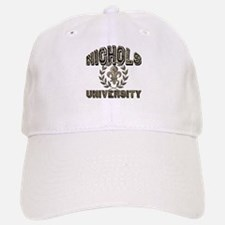 Nichols Last Name University Baseball Baseball Cap
