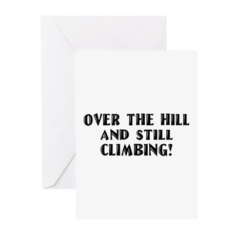 Over the Hill Birthday Greeting Cards (Pk of 10)