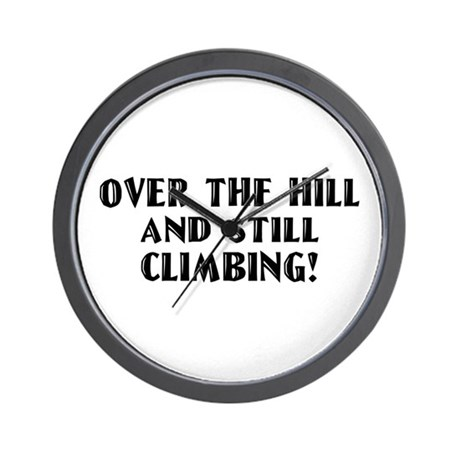 Over the Hill Birthday Wall Clock