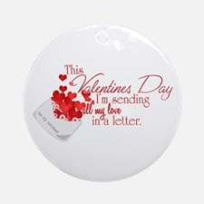 Love Letters (Soldier) Ornament (Round)