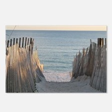 Pathway to Seaside Beach Postcards (Package of 8)