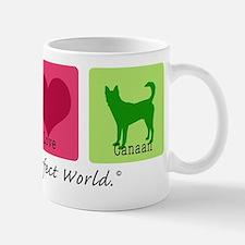 Peace Love Canaan Mug