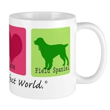 Peace Love Field Spaniel Mug