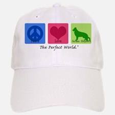 Peace Love German Shepherd Baseball Baseball Cap