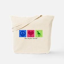Peace Love GSP Tote Bag