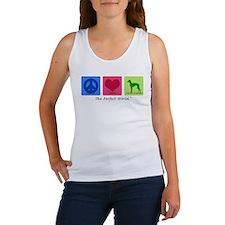 Peace Love Italian Greyhound Women's Tank Top