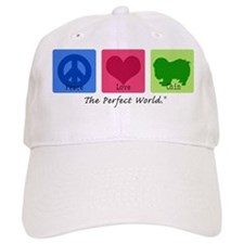 Peace Love Chin Baseball Cap
