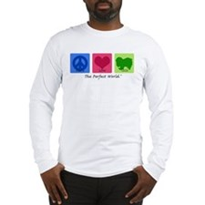 Peace Love Chin Long Sleeve T-Shirt