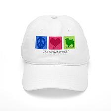 Peace Love Keeshond Baseball Cap